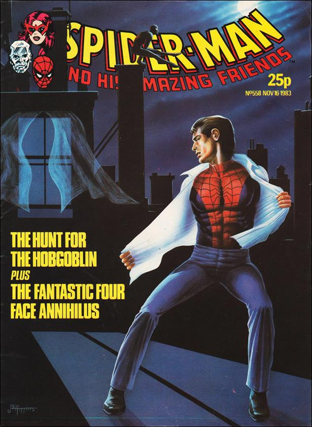 Spider-Man: Comics Weekly (UK) 558-A by Marvel UK