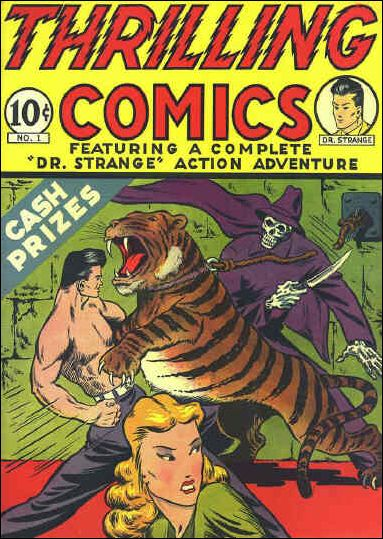 Thrilling Comics (1940) 1-A by Standard