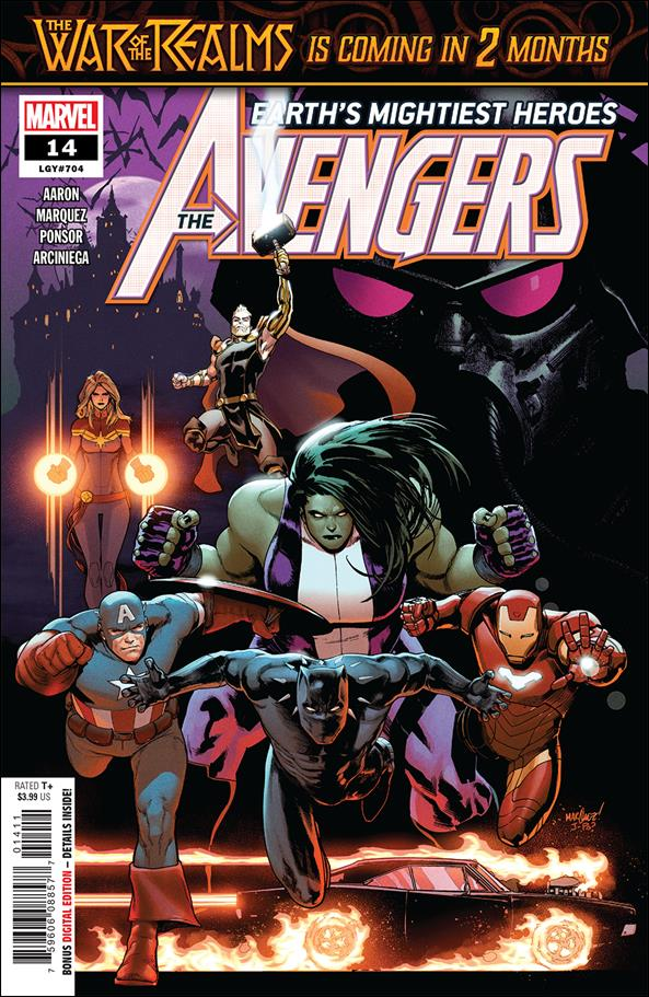 Avengers (2018/07) 14-A by Marvel