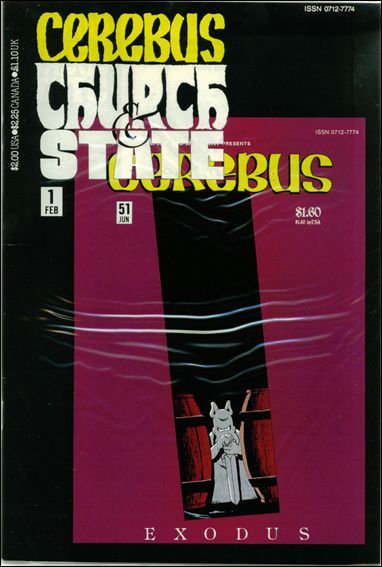 Cerebus: Church & State 1-A by Aardvark-Vanaheim