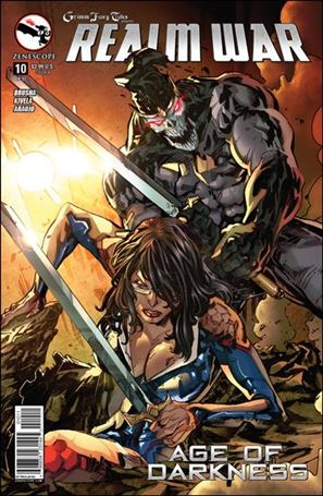 Grimm Fairy Tales Presents Realm War: Age of Darkness 10-A