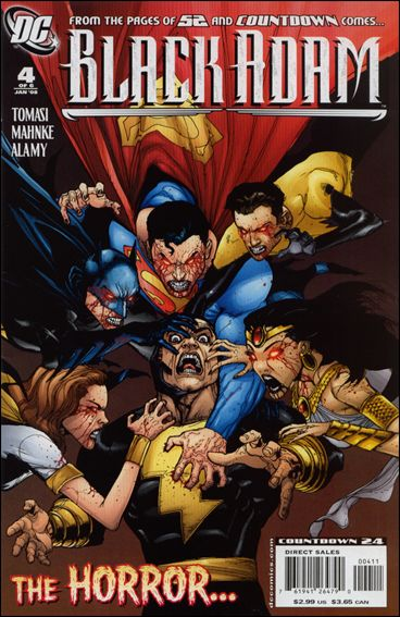 Black Adam: The Dark Age 4-A by DC