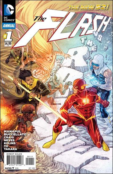 Flash Annual (2012) 1-A by DC