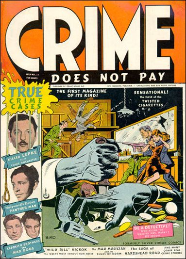 Crime Does not Pay 22-A by Lev Gleason Productions