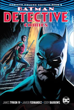 Batman: Detective Comics: Rebirth Deluxe Edition 4-A