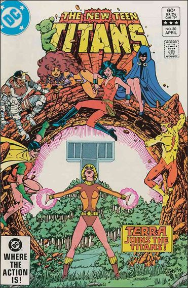 New Teen Titans (1980) 30-A by DC