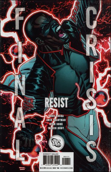 Final Crisis: Resist 1-B by DC