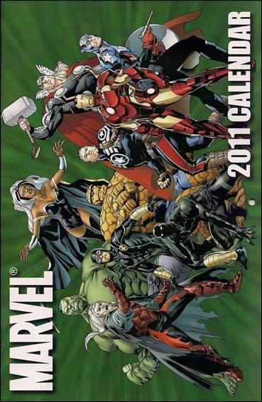 Marvel Calendar, 2011 1-A by Marvel