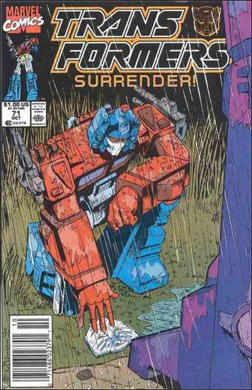 Transformers (1984) 71-A by Marvel