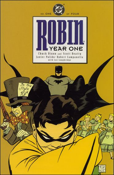 Robin: Year One 1-A by DC