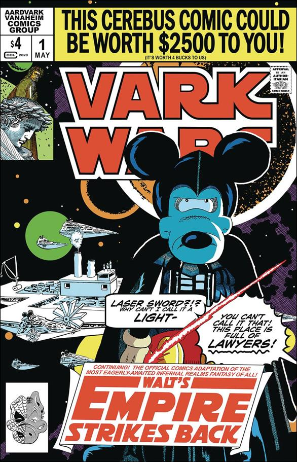 Vark Wars: Walt's Empire Strikes Back 1-A by Aardvark-Vanaheim