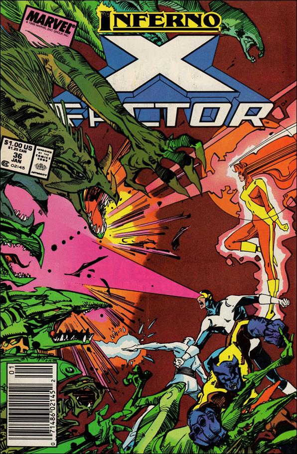 X-Factor (1986) 36-A by Marvel