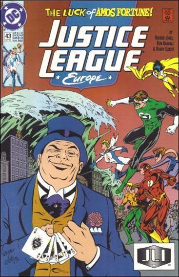 Justice League Europe 43-A by DC