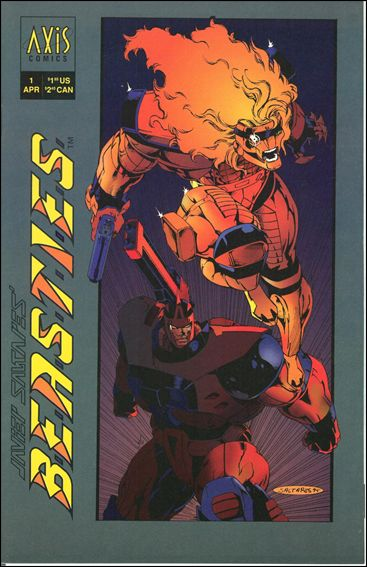 B.E.A.S.T.I.E.S. 1-A by Axis Comics