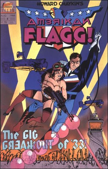 American Flagg! (1988) 4-A by First