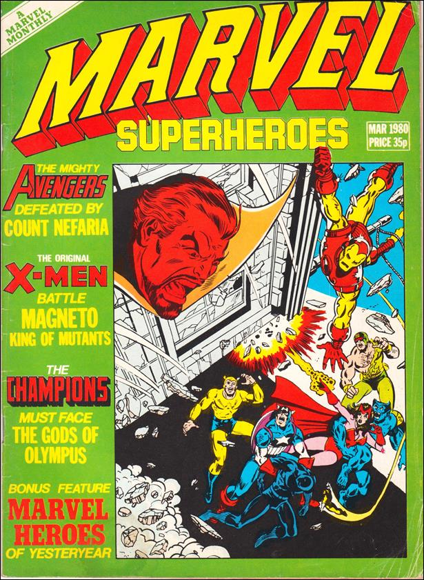 Marvel Superheroes (UK) 359-A by Marvel UK