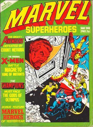 Marvel Superheroes (UK) 359-A