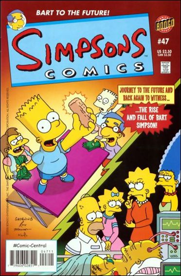 Simpsons Comics 47-A by Bongo