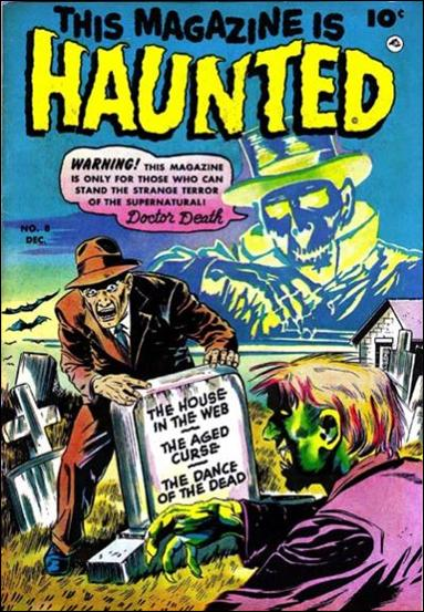 This Magazine is Haunted (1951) 8-A by Fawcett