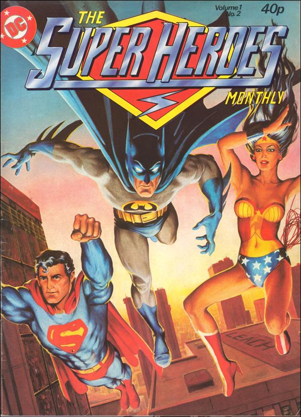 Super Heroes Monthly (UK) (1980) 2-A by Egmont Publishing