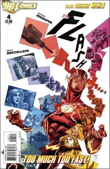 Flash (2011) 4-A by DC