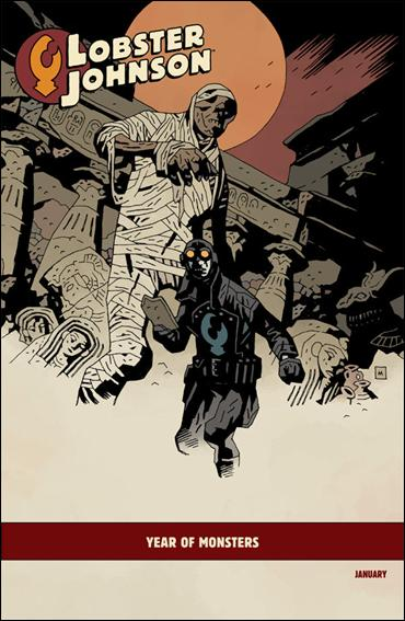 Lobster Johnson: The Burning Hand 1-B by Dark Horse