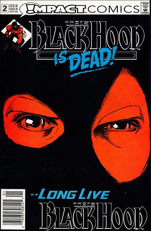 Black Hood (1991) 2-A by Impact Comics