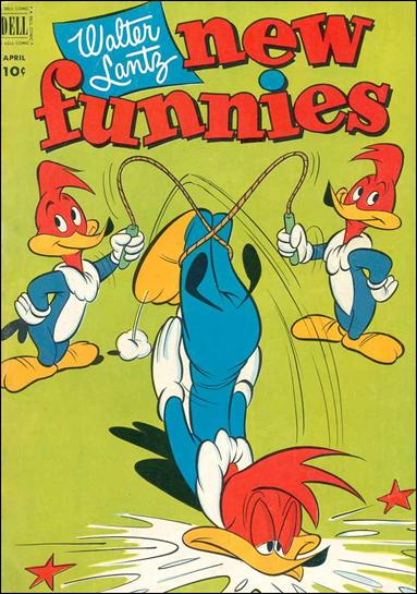 Walter Lantz New Funnies 182-A by Dell