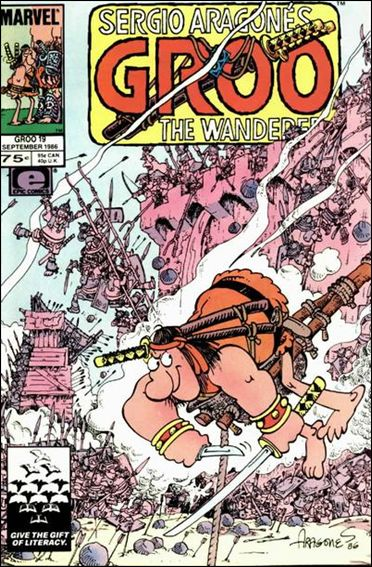Sergio Aragones Groo the Wanderer 19-A by Epic