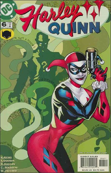 Harley Quinn 6-A by DC