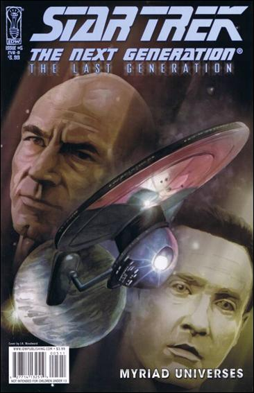 Star Trek: The Next Generation: The Last Generation 5-A by IDW