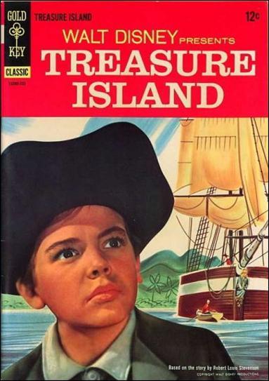 Walt Disney Presents Treasure Island 1-A by Gold Key