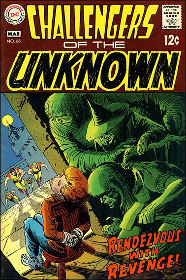 Challengers of the Unknown (1958) 66-A by DC