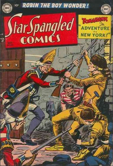 Star Spangled Comics (1941) 121-A by DC