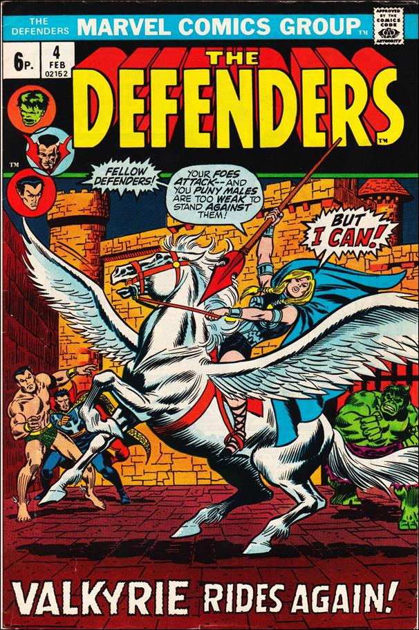 Defenders (1972) 4-B by Marvel