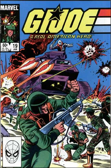 G.I. Joe: A Real American Hero 19-A by IDW