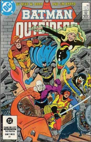 Batman and the Outsiders (1983) 7-A by DC