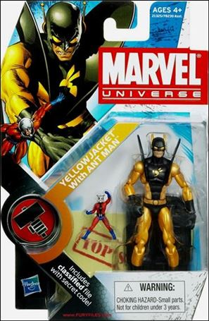 Marvel Universe (Series 2) Yellowjacket with Ant-Man