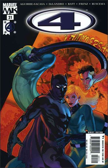 Marvel Knights 4 21-A by Marvel