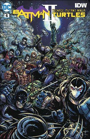 Batman/Teenage Mutant Ninja Turtles II 6-B