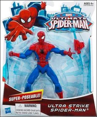 "Ultimate Spider-Man (6"" Figures) Ultra Strike Spider-Man  by Hasbro"