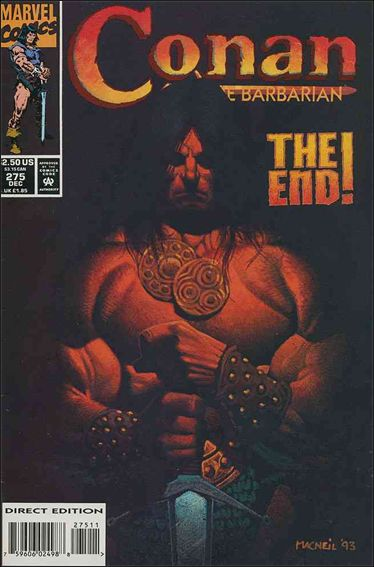 Conan the Barbarian (1970) 275-A by Marvel