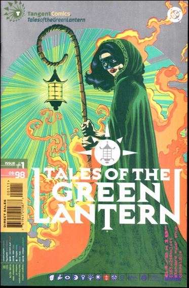 Tangent Comics/Tales of the Green Lantern 1-A by DC