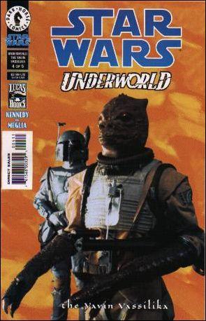 Star Wars: Underworld - The Yavin Vassilika 4-B by Dark Horse