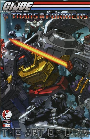 G.I. Joe vs the Transformers: The Art of War 4-A by Devil's Due