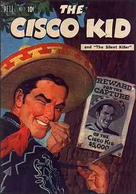 Cisco Kid (1951) 3-A by Dell