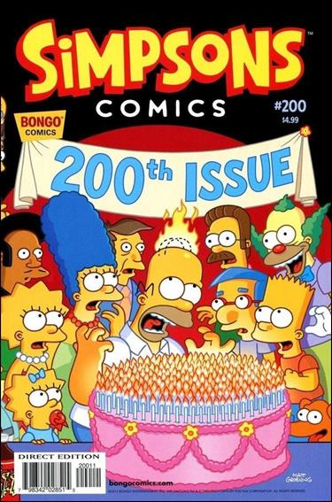 Simpsons Comics 200-A by Bongo