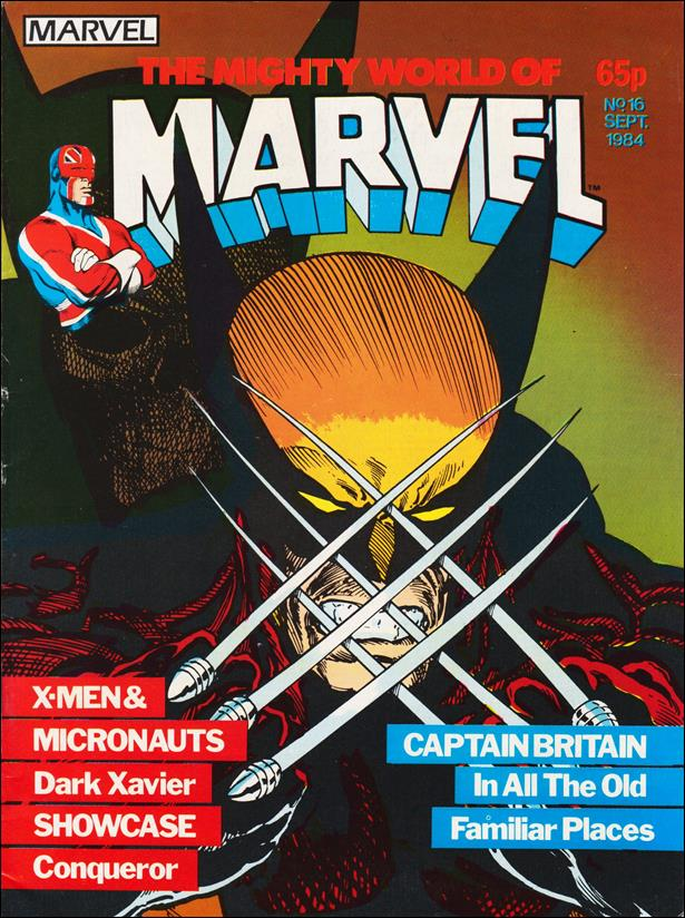 Mighty World of Marvel (UK) (1983) 16-A by Marvel UK