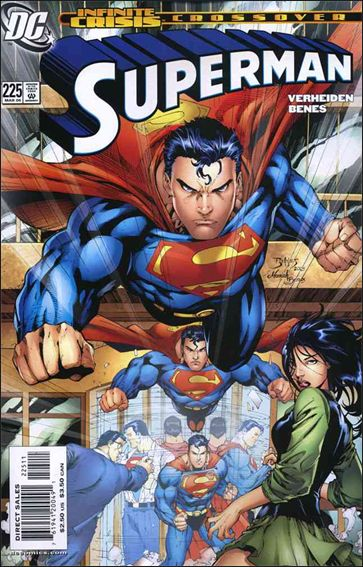 Superman (1987) 225-A by DC