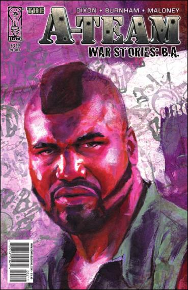 A-Team: War Stories: B.A. nn-A by IDW